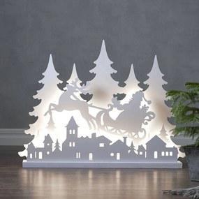 LED dekoratívne svetlo Grandy Mikuláš, dĺžka 80 cm