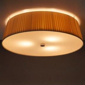 Krémové stropné svietidlo Sotto Luce KAMI, Ø 45 cm