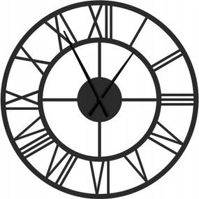 Kovové nástenné hodiny Rím, priemer 80 cm