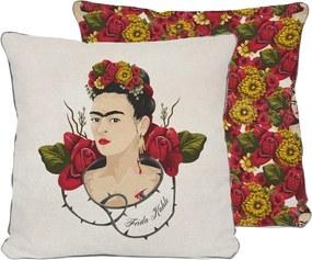 Vankúš Madre Selva Frida Roses, 45 x 45 cm