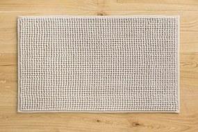 Kúpeľňový koberček CHENILLE beige - 40x60 cm