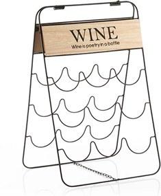 Stojan na fľaše / víno, Poetry, 9 fliaš, 30x49x25 cm Homania V0201391
