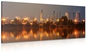 Obraz priemyselná štvrť