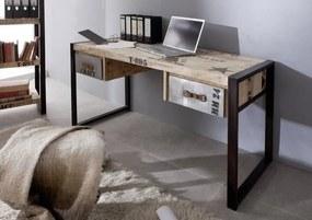Masiv24 - FABRICA Písací stôl 150x70 cm, mango