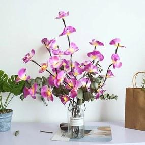 B2B Svietiace vetvičky orchidey