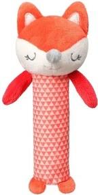 BABY ONO Nezaradené Plyšová pískací hračka Baby Ono Fox Vincent Červená |