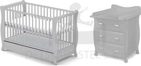 Gala detská izba pre bábätko sivá