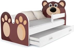 GL Medvedík detská posteľ 140x80