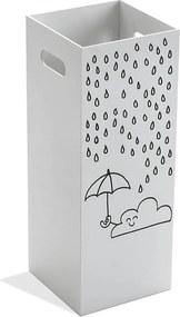 Biely stojan na dáždniky Versa Clouds