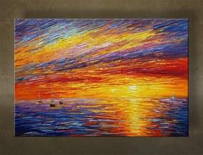 Ručne maľovaný obraz na stenu MORE BI169E1
