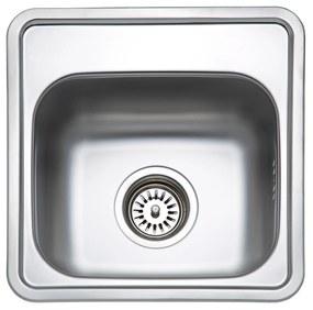 Sinks nerezový drez BAR 380 V matný