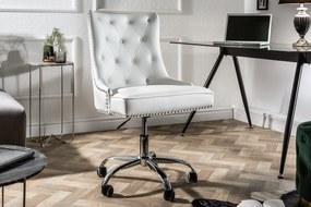 Bighome - Kancelárska stolička VICTORY - biela