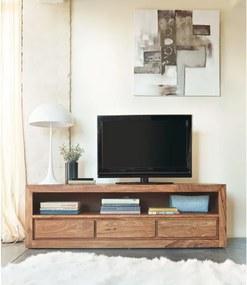 TV stolík Gani 160x50x45 indický masív palisander Only stain