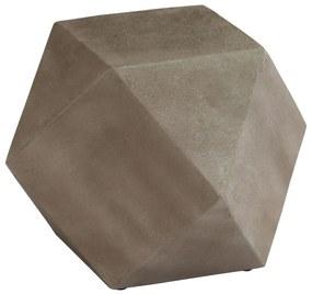 vidaXL Príručný stolík 40x40x40 cm betónový