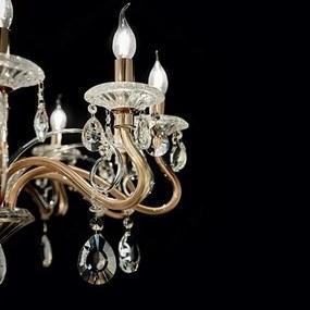 Ideal Lux 087757 nástenné svietidlo Negresco 2x40W | E14