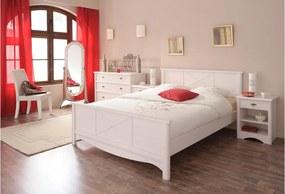 Študentská posteľ Netie 140x200cm - transparentne