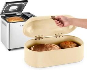 Klarstein Krümelmonster sada na pečenie chleba 550 W pekáreň na chlieb 14,5 litrová nádobka na chlieb