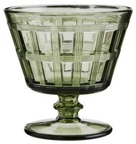 MADAM STOLTZ Pohár na koktejly Green Glass 250 ml