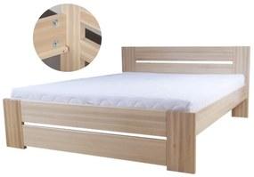 Lívia 100x200 buková posteľ Natural