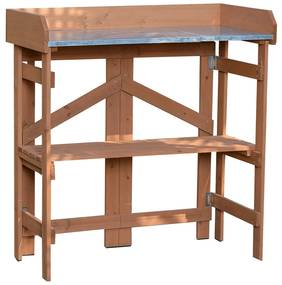 Záhradný pracovný stôl, jelša, ELSIRO