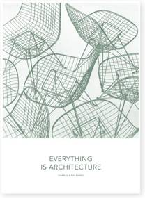 Vitra Plagát 50x70 Eames Quotes Posters, Architecture