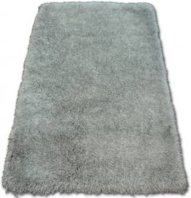 Luxusný kusový koberec Shaggy Love sivý, Velikosti 80x150cm