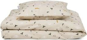 LIEWOOD Detské bavlnené obliečky Arctic Mix - 70x100cm