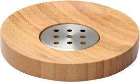 Kúpelňová miska na mydlo Bonja 282332, bambus/kov