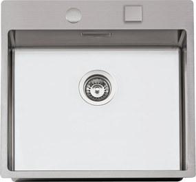 Sinks nerezový drez BOXER 550 RO