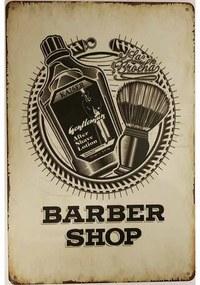 Ceduľa Barber Shop 4