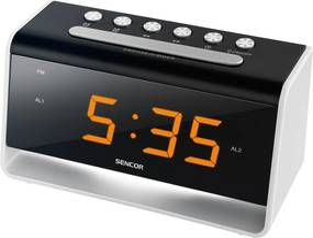 SENCOR SDC 4400 W hodiny s budíkom LED 35048704
