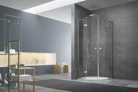 Sprchový kút štvrťkruh 90x90x200 cm Swiss Aqua Technologies Stream chróm lesklý SIKOSTREAMS90CRT