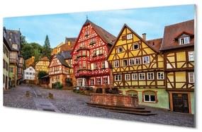 Nástenný panel Germany Staré Mesto Bavorsko 140x70cm
