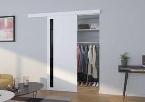 Vnútorné dvere posuvné Dust - biela - 03 - 106 cm