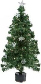 Christmas gifts Stromček vianočný s 9 snehovými vločkami, 60 cm
