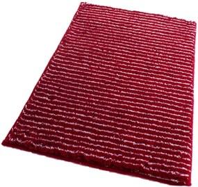 ROUTNER Kúpeľňová predložka PESCINA Červená 10609 - Červená / 60 x 100 cm 10609