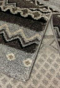 Festival koberce AKCE: 120x170 cm Kusový koberec Loftline K20427-02 Grey - 120x170 cm