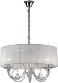 Závesné svietidlo IDEAL LUX Swan SP3 biela 035840