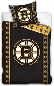 TipTrade · NHL - Hokejové obliečky Boston Bruins - 100% bavlna Refoncé - 70x90 cm + 140x200 cm