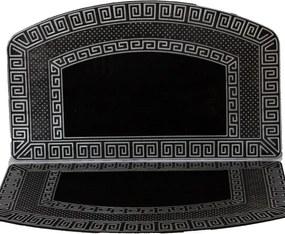 WELCOME rohožka čierno-strieborná