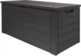 Jurhan & Co.KG Germany Odkladací box Woodebox so sklápateľným vrchnákom - 120x46x57cm