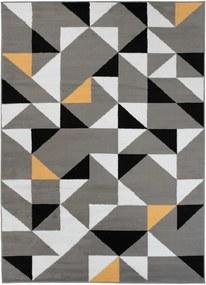 Kusový koberec PP Lester sivožltý, Velikosti 160x220cm
