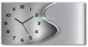 Sklenené hodiny na stenu Kokova abstrakcie pl_zsp_60x30_s_268882187
