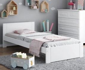 AMI nábytok Postel DMD9 90x200cm bílá