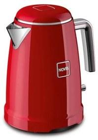NOVIS Rýchlovarná kanvica K1 červená, červená