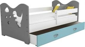 AMI nábytok Detská postieľka Mája M3 80x160 biela