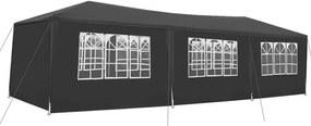 Malatec Záhradné párty stan 3 x 9 m + 8 bočných stien, šedý 5122