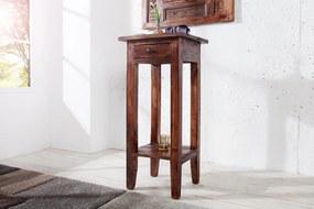Bighome - Príručný stolík HEMINGWAY - hnedá