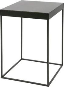 Čierny odkladací stolík DeEekhoorn Meert