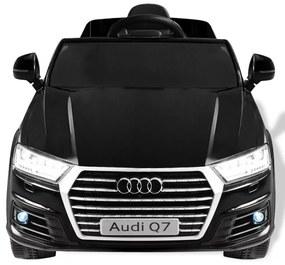 Elektrické autíčko Audi Q7, čierne, 6 V